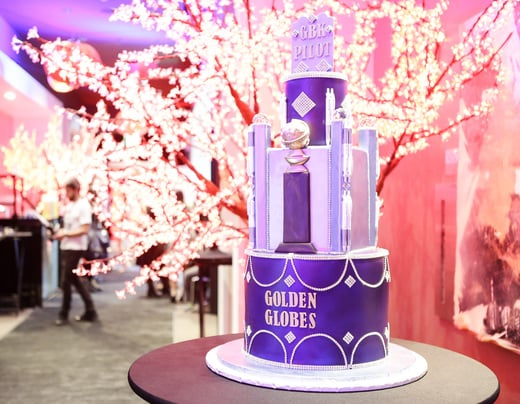Amazing Themed Cake by Bread Basket Cake Company! Photo Credit: Tiffany Rose/Getty Images for GBK Productions