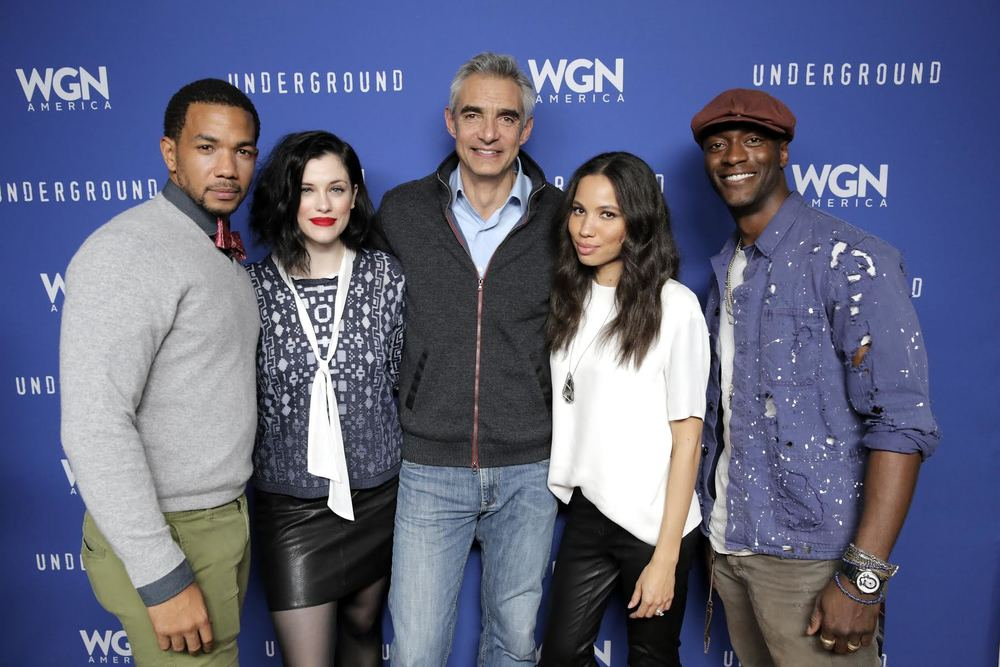The Cast and Crew of Underground! Courtesy Photo
