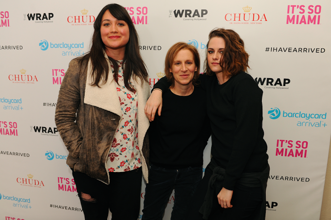 Lily Gladstone, Kelly Reichardt, & Kristen Stewart stopped by Barclaycard Arrival Presents 364 Main at Sundance. Photo Credit: World RedEye