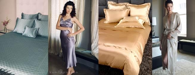 Slip Into Something Comfy with Kumi Kookoon Silk PJ's! Courtesy Photo