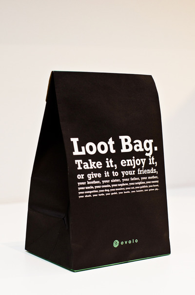 The Loot Bag! Courtesy Photo