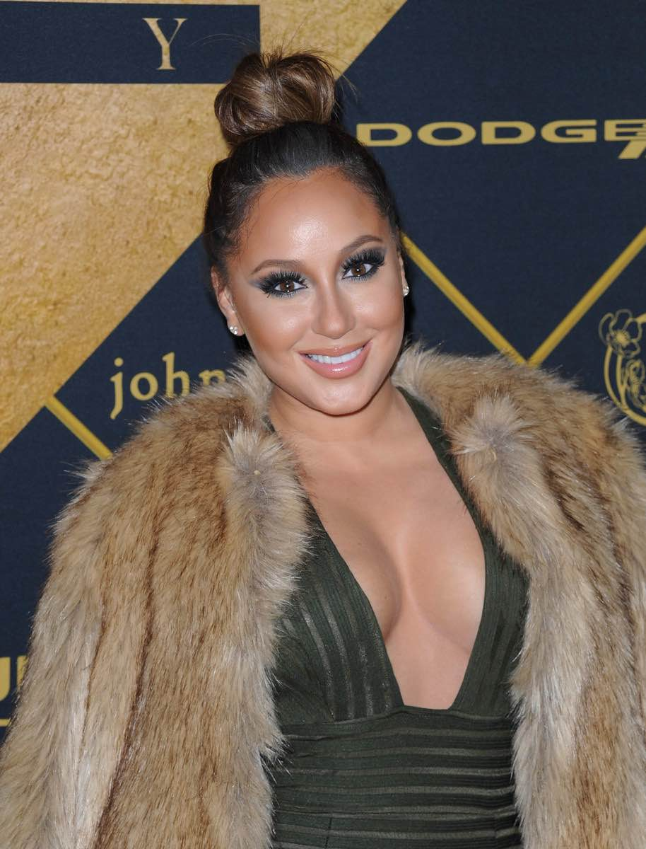 Adrienne Bailon was all smiles at The 2016 MAXIM Party (produced by Karma International) with Bootsy Bellows powered by Dodge on Treasure Island in San Francisco. Photo Credit: Michael Bezjian