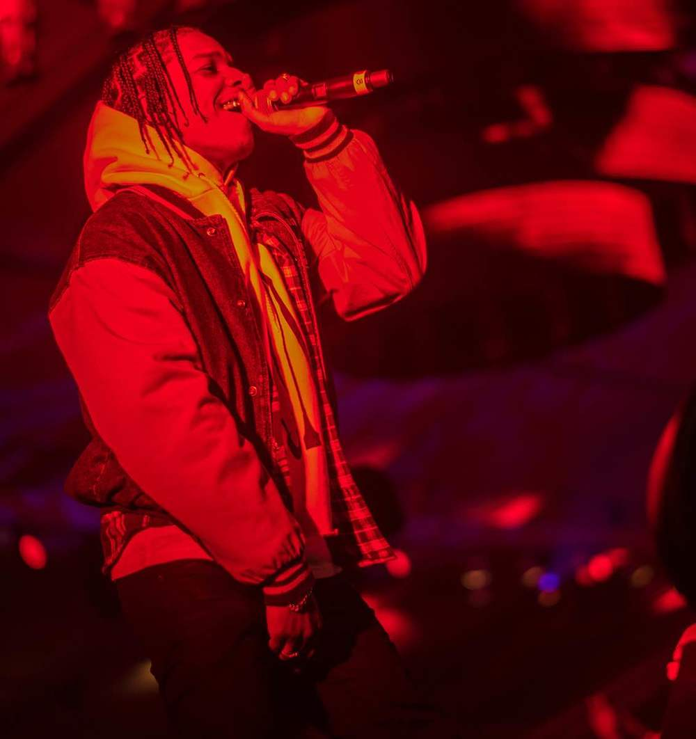 "A$AP Rocky had the entire crowd singing along to ""F***in' Problems"" at The 2016 MAXIM Party (produced by Karma International) with Bootsy Bellows powered by Dodge on Treasure Island in San Francisco. Photo Credit: Michael Bezjian"