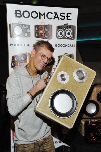Singer Aaron Carter attends the GBK Pre Grammy Lounge at Tom's Urban at L.A. Live. Photo Credit: Jarod Harris