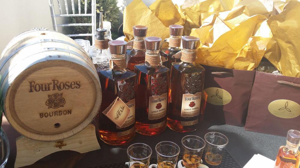 Four Roses Bourbon!