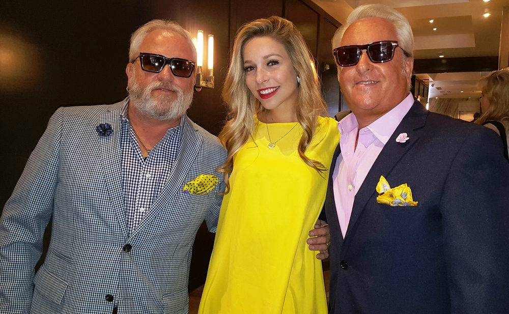 Miss America Kira Kazatsev with the WOW brothers! Courtesy Photo