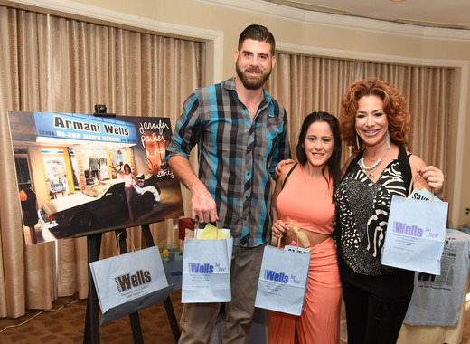 TV personality Jenelle Evans and actress Claudia Wells attend the ECOLUXE Pre-Oscars Celebrity Luxury Lounge. Photo Credit: Vivien Best
