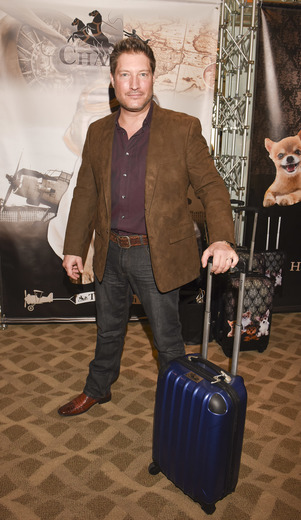 Actor Sean Kanan attends the ECOLUXE Pre-Oscars Celebrity Luxury Lounge. Photo Credit: Vivien Best/Getty Images