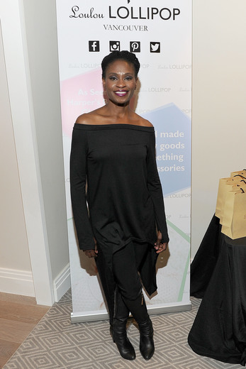 Adina Porter attends the GBK & LifeCell 2016 Pre Oscar Lounge at The London West Hollywood. Photo Credit: Jerod Harris