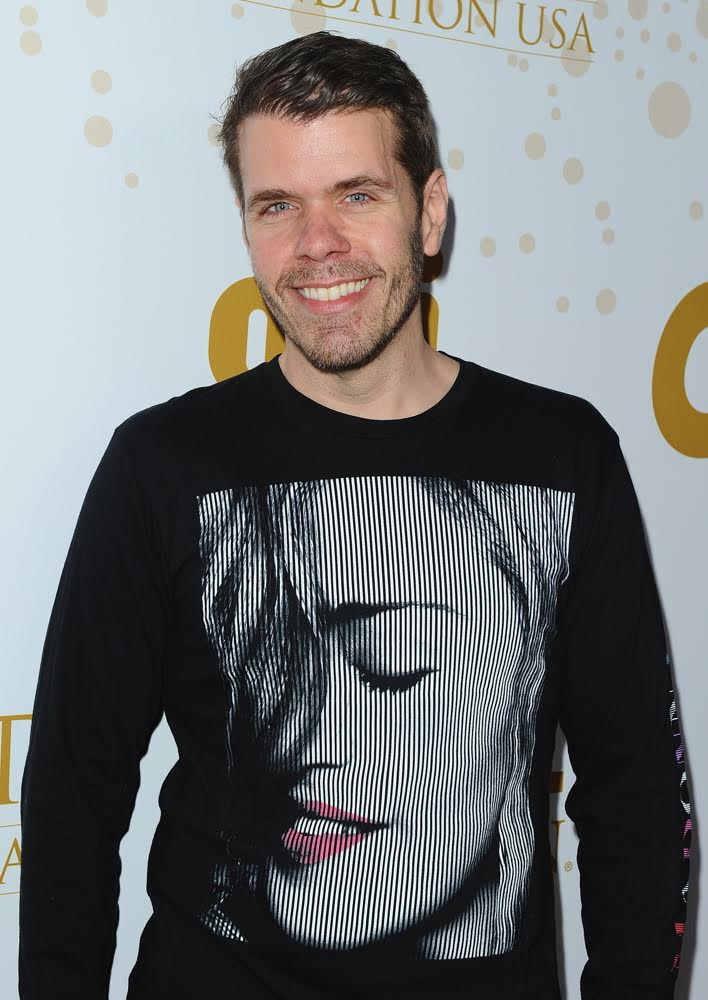 Perez Hilton stopped by the OK! Magazine Pre-Oscar bash. Courtesy Photo