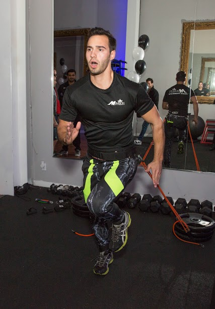 Guests Enjoyed Demos by Mansion Fitness Trainers Which Showcased The Durability and Strength of Levitation Activewear. Courtesy Photo