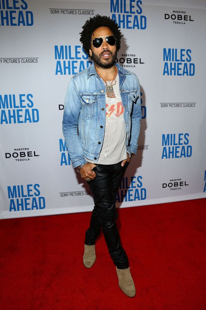 Lenny Kravitz Stopped By To Show His Support! Courtesy Photo