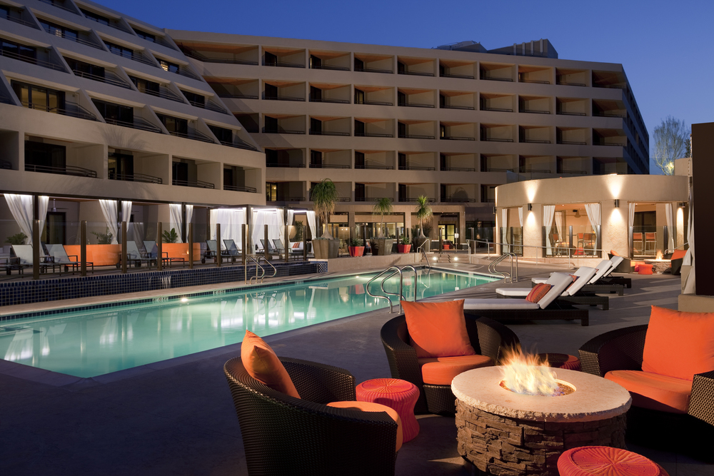 The overall look at The Hyatt Palm Springs. Courtesy photo