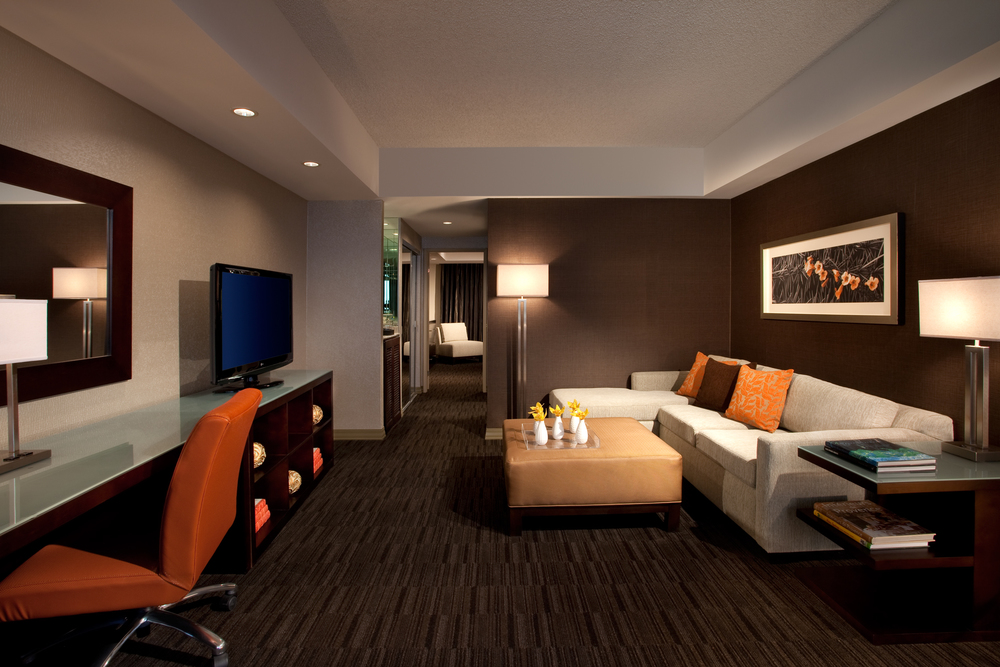 Each and every room at The Hyatt Palm Springs is a spacious suite. Courtesy photo
