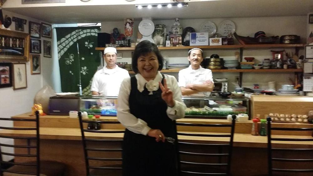 Owner of Tanuki Sushi Bar - Maggie!