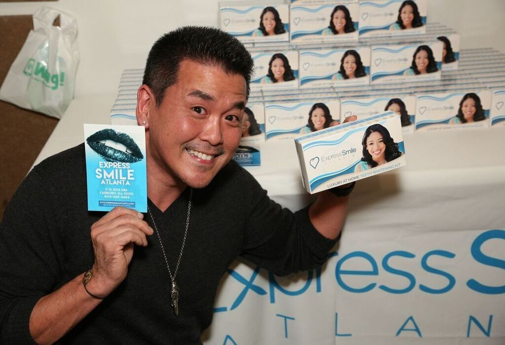 Michael Sun Lee Enjoying Express Smile Atlanta. Courtesy Photo