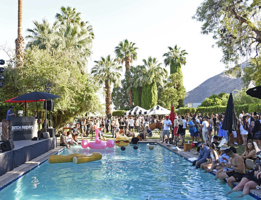 General View of The Music Lounge (Photo by Vivien Killilea/Getty Images for The BMF Media Group)