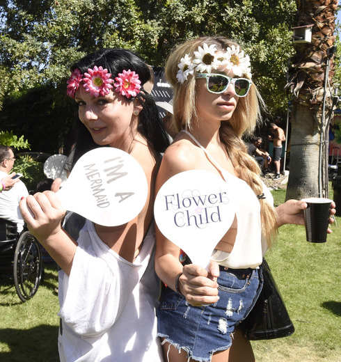 It's Not Coachella Without a Little 'Flower Power'. (Photo Credit: Vivien Killilea/Getty Images for BMF Media Group).