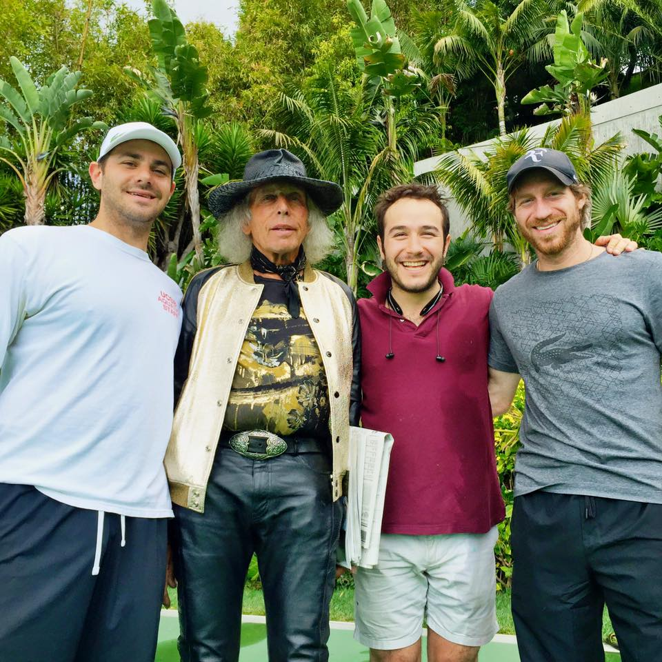 The Crew with James Goldstein! Courtesy Photo