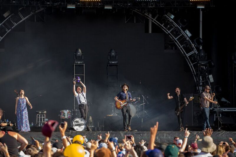 The Lumineers Played Hits From Their Self-Titled Album as Well as Their Latest, 'Cleopatra'. Photo Credit: BottleRock Napa Valley/Latitude 38 Entertainment