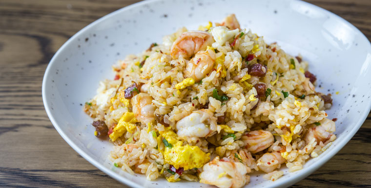 Shrimp Fried Rice. Courtesy Photo