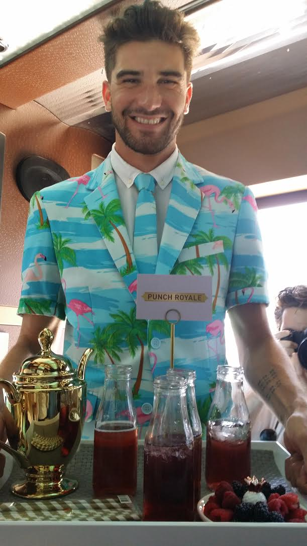 All Chamboaaaard! Guests Enjoyed The Punch Royale at the All Chamboaaaard Brunch Event in LA!