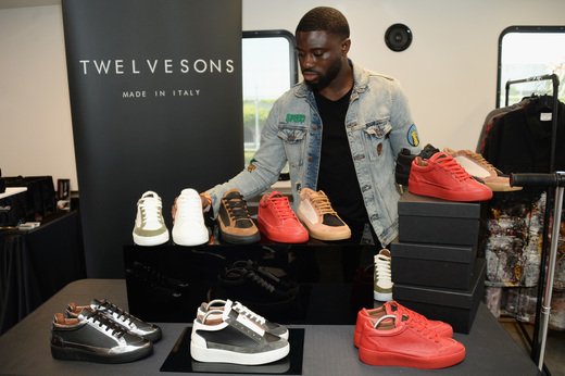 Twelve Sons Footwear. Photo Credit: Getty Images for BET