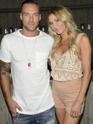 Model Calum Best and Television Personality Brandi Glanville at 2016 ESPYs Talent Resources Sports Luxury Loungepresented by Polo Red Ralph Lauren and RNL Let Loose. Photo Credit: Getty Images for Talent Resources