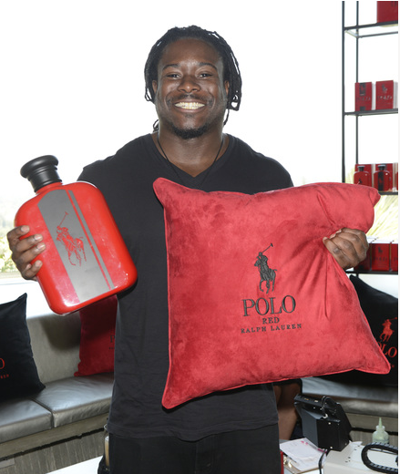 NFL Running back   Eddie Lacy  at 2016 ESPYs Talent Resources Sports Luxury Lounge power by  Polo Red, Ralph Lauren. Photo Credit: Getty Images for Talent Resources