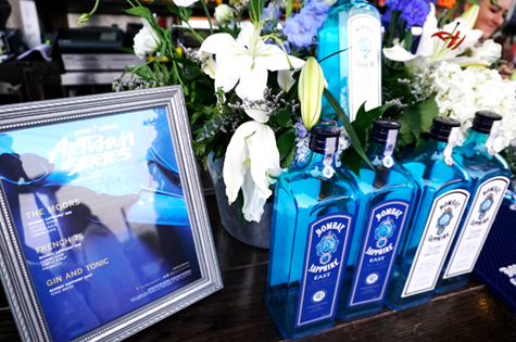 Bombay Sapphire Artisan Series Mural Unveiling in Los Angeles E.P & L.P. Afterparty, featuring Artist Shawn Warren. Courtesy Photo