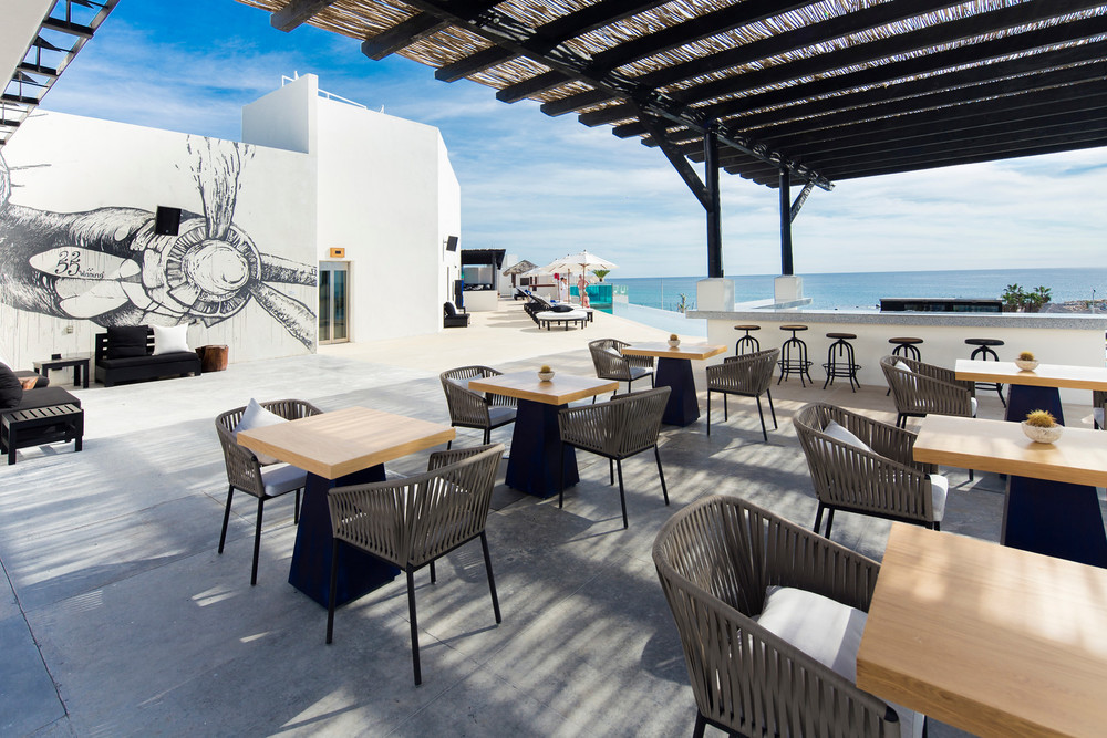 The Rooftop Sushi & Bar at Hotel El Ganzo. Photo Courtesy of Hotel El Ganzo