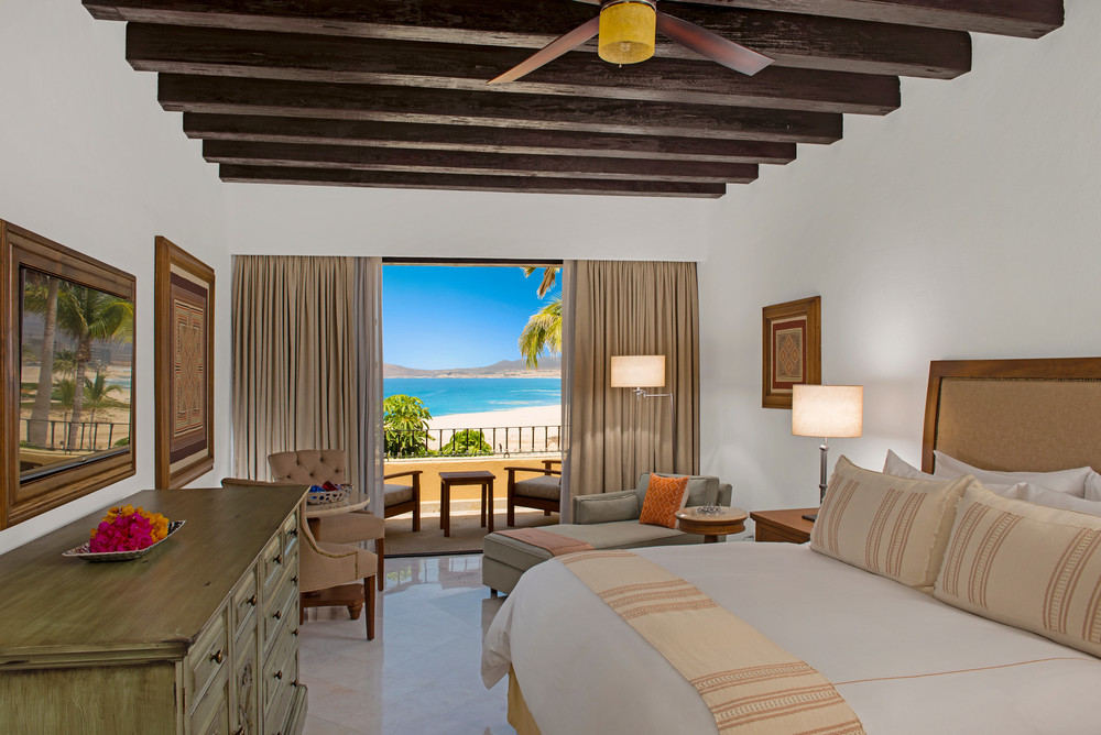 A Glimpse Inside an Ocean Front View Room. Photo Courtesy of Casa Del Mar