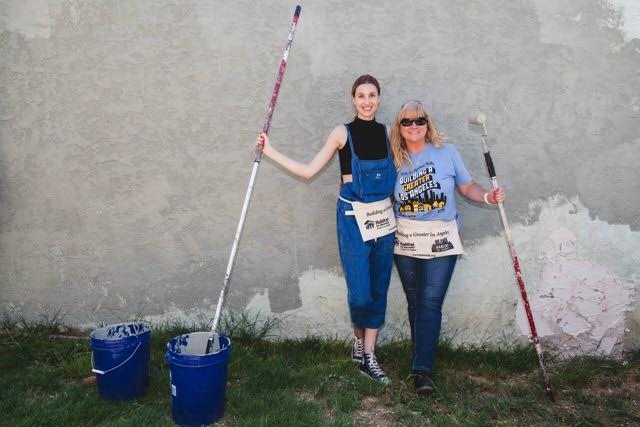 Whitney Port of   The Hills   volunteering with Habitat LA. Courtesy Photo