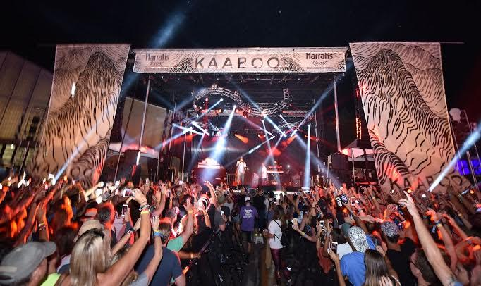 Inside KAABOO Del Mar! Courtesy Photo