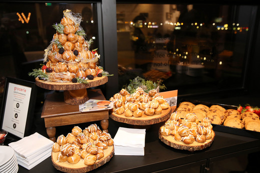 Yummy Bites at the Vanity Fair Social Club Oscar's Viewing Party during the 2016 Vanity Fair Social Club #VFSC for Oscar Week at PLATFORM on February 27, 2016 in Culver City, California. (Photo by Rachel Murray/Getty Images for Vanity Fair)