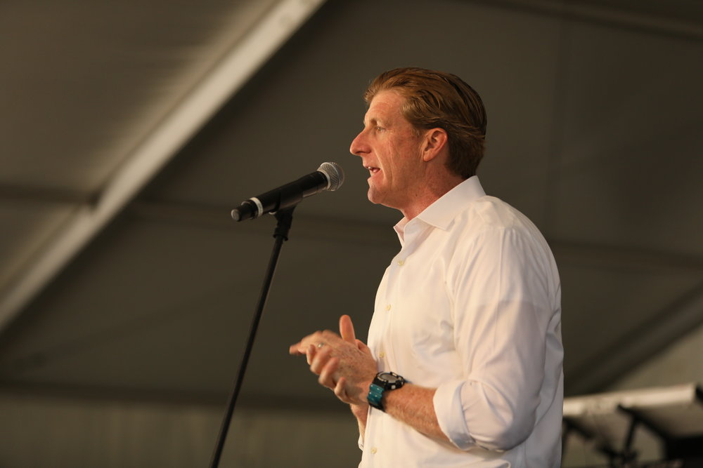 Patrick Kennedy at the 22nd Annual Music Festival for Brain Health. Courtesy Photo