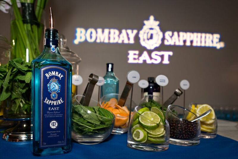 The Main Ingredient For The Evening - Bombay Sapphire East! Courtesy Photo