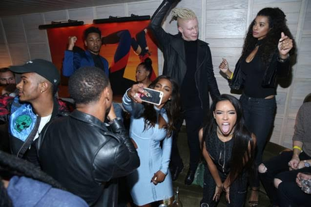 Tinashe Partied with Model Shaun Ross Throughout the Night! Photo Credit: Getty Images for NYLON