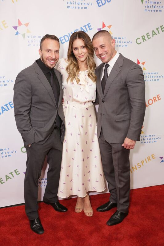 Katharine McPhee Was All Smiles at the Event! Courtesy Photo