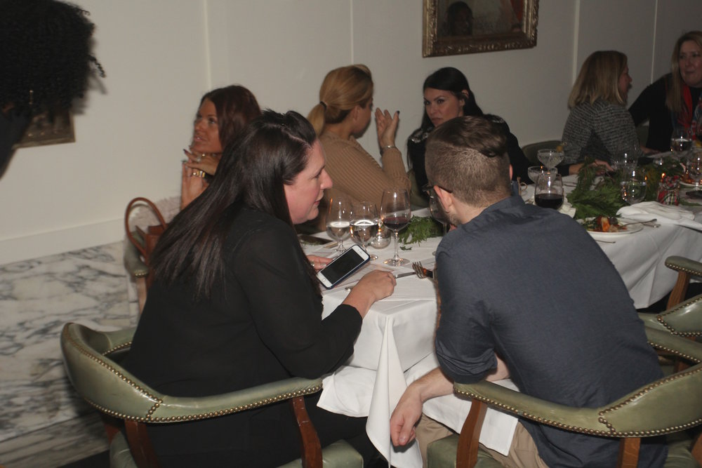 Bloggers and Media LOVED the dinner at Cecconi's Learning About the Latest Craze! Photo Credit: Michael Ant.