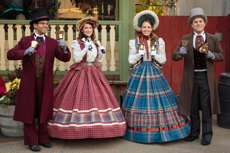 Christmas Carolers to Spread Cheer Throughout the Entire Themepark. Photo Credit: Knott's Merry Farm