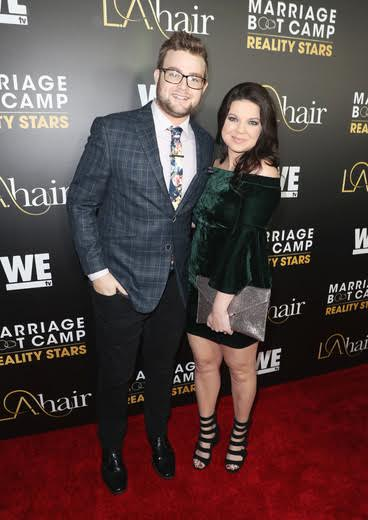 "Amy and Dillon King arrive for date night   at WE tv's ""Marriage Boot Camp Reality Stars"" and ""L.A. Hair"" Premiere Event at Nightingale on January 5, 2017. Photo Credit:  Jonathan Leibson  