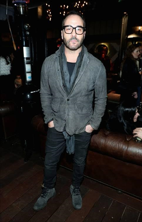 Jeremy Piven enjoying an exclusive first look of Liaison Restaurant + Lounge at their Private Opening Reception on January 12, 2017. Photo Credit: Jonathan Liebson/Getty Images for Liaison Restaurant + Lounge