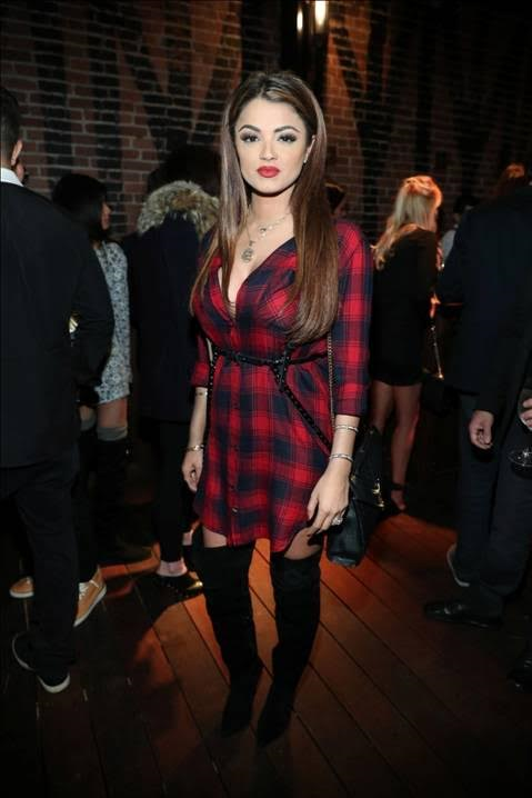 """Shahs of Sunset"" star Golnesa ""GG"" Gharachedaghi was in party mode at the Liaison Restaurant + Lounge Private Opening Reception. Photo Credit: Jonathan Liebson/Getty Images for Liaison Restaurant + Lounge"