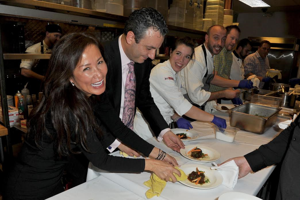 CEO of ChefDance – Mimi Kim Having a Great Time at ChefDance- a Hot Ticket at Sundance Film Festival. Courtesy Photo