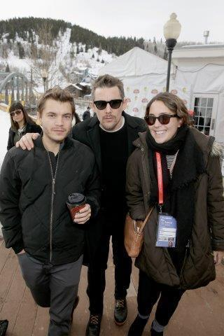 Emile Hirsch and Ethan Hawke at Village at the lift! Photo Credit: Isaac Brekken