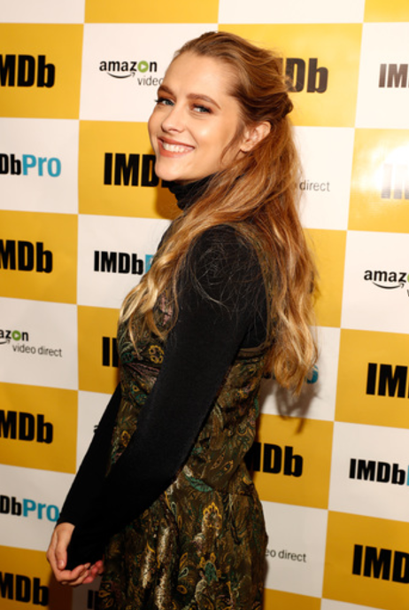 Zoey Deutch Discussed her First Onscreen Kiss! Photo Credit: Getty Images for IMDb