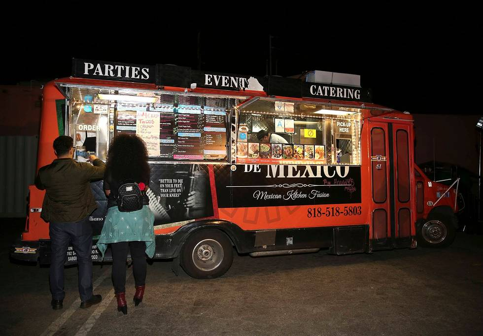 Guests LOVED The Surprise Taco Truck! Photo Credit:  Blair Raughley/Invision by the Associated Press.