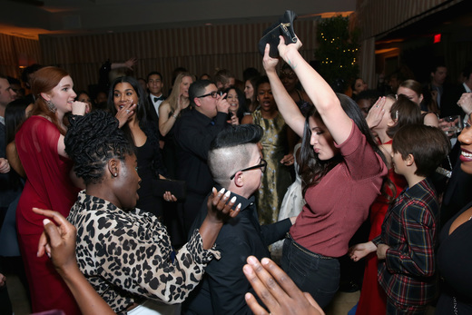 Actresses Danielle Brooks, Lea DeLaria and Trace Lysette attend The Weinstein Company & Netflix's 2017 SAG After Party in partnership with Absolut Elyx at Sunset Tower Hotel on January 29, 2017 in West Hollywood, California. (Photo by Phillip Faraone/Getty Images for The Weinstein Company/Netflix)