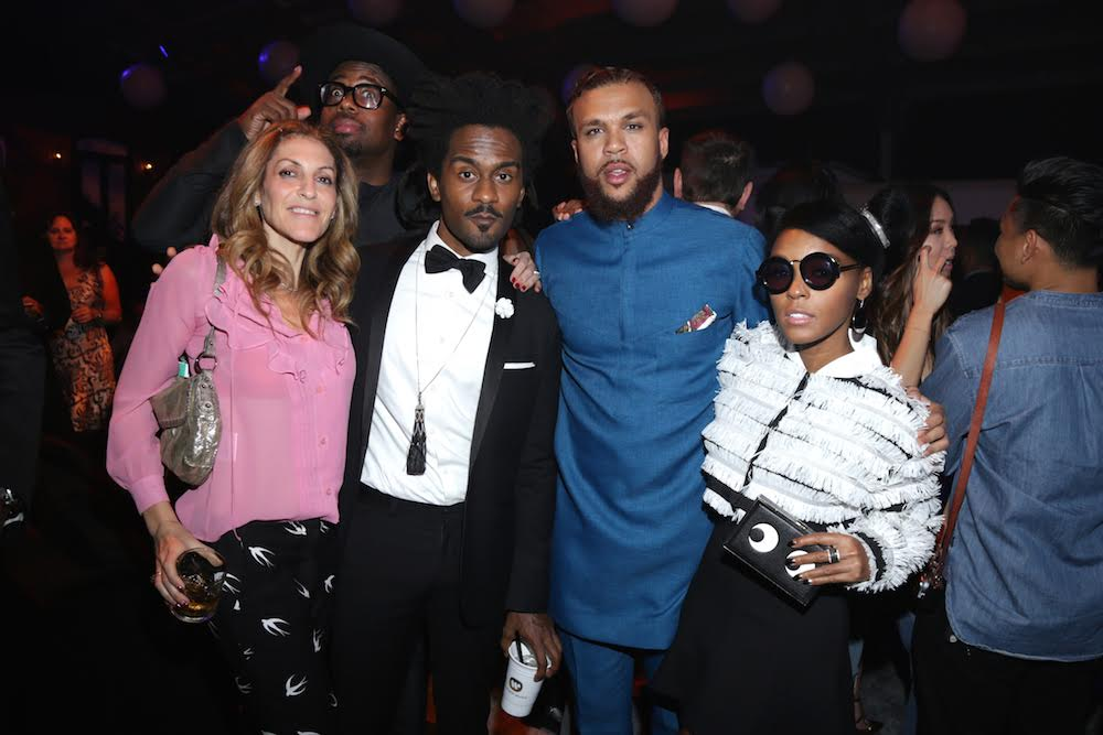 Jidenna with Janelle Monae at the Remy Martin Presents Warner Music Block Party.Photo Credit:Rémy Martin